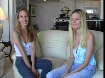 Neulinge zeigen Talent bei ihrem ersten Pornodreh