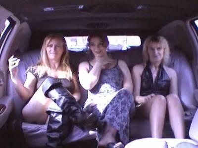 Ein Dreier in der Limousine